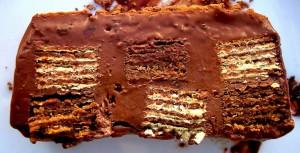 torta de waffer
