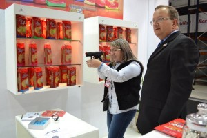 A brincadeira com as armas de pressão foi sucesso na Expoagas
